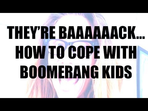 Boomerang Kids? Get Off To A Positive Start