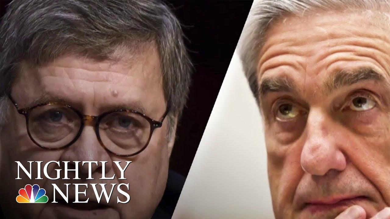 Mueller Report: Attorney General Under Pressure To Release Details   NBC Nightly News