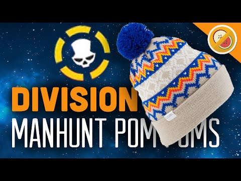 MANHUNT FOR POM POMS | The Division Dark Zone Adventures w/ Blue (Funny Moments)