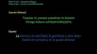Todos los derechos se reserva a sus respectivos dueños, para uso recreativo en las reuniones sociales con Karaoke. Plenty of grit - Hayashibara Megumi KING ...