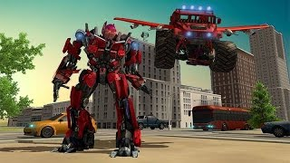 Flying Monster Robot Transform (By Cloud Games Studio 3D) Android Gameplay HD