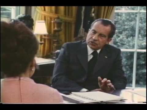 President Nixon meets with Julie Nixon Eisenhower, discusses the environment