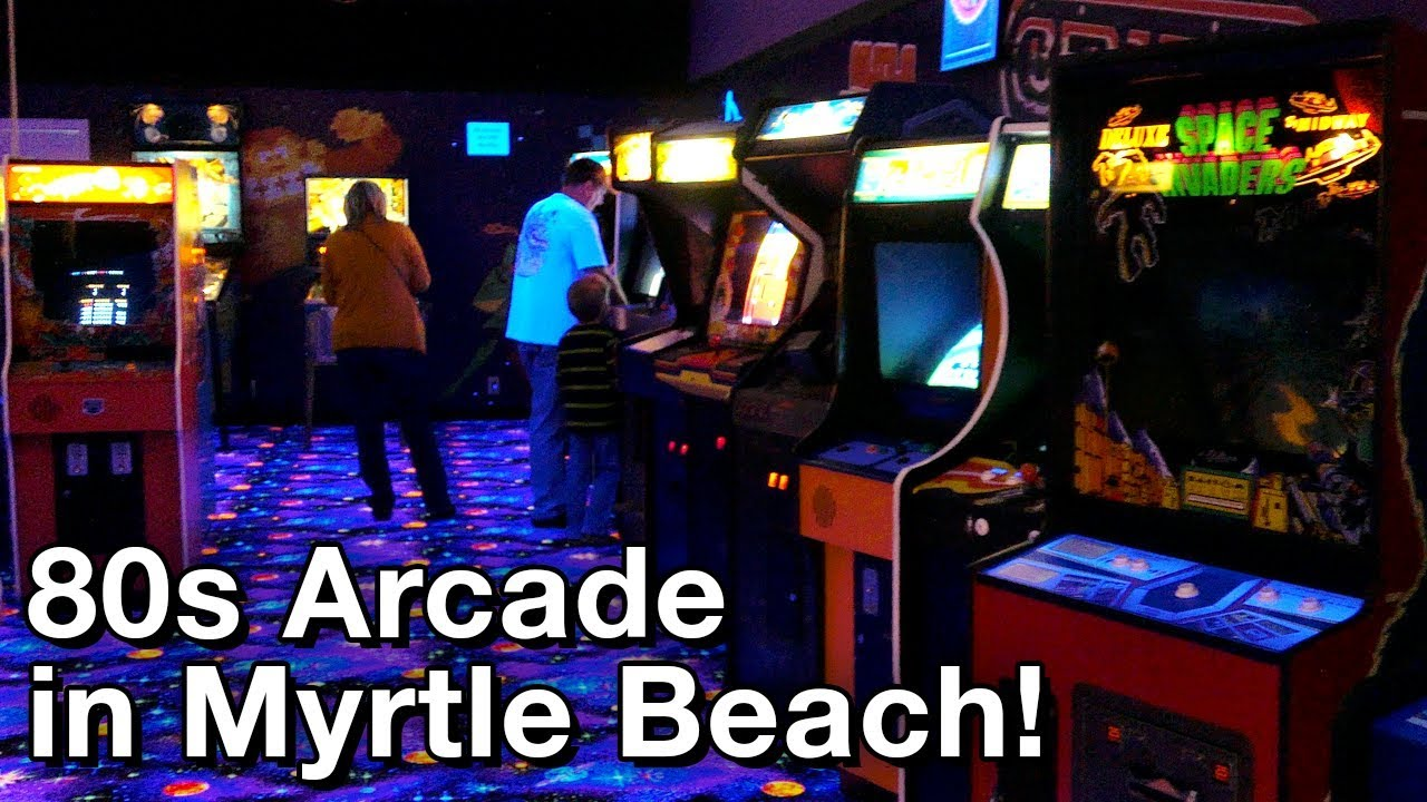 Walking Back In Time Into An 80s Arcade O 111917