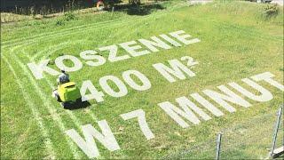 Grillo FD 280 / koszenie 400 m² w 7 minut z dokładnym zbieraniem trawy
