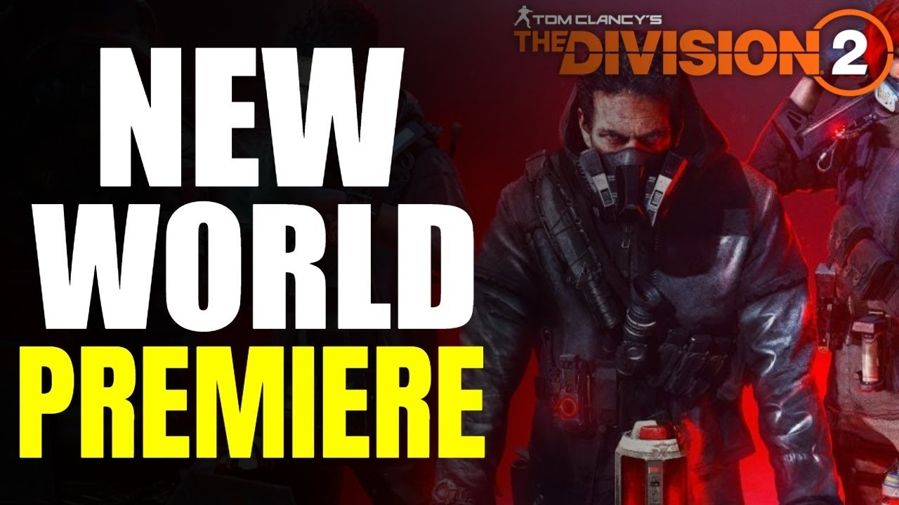 The Division 2 NEWS! WARLORDS OF NEW YORK GAMEPLAY & WORLD PREMIERE!