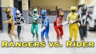 RANGERS vs. RIDER [FAN FILM] Super Sentai   Kamen Rider thumbnail