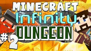 Minecraft Infinity Dungeon (Snapshot 14w04b) Part 2 - David