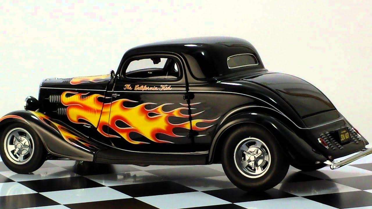 American Graffiti Cars Wallpaper Danbury Mint 1934 California Kid Youtube