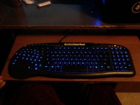 Steelseries Merc Stealth Gaming Keyboard Unboxing