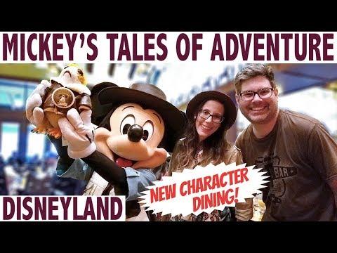 NEW Disneyland Mickey's Tales of Adventure Brunch!