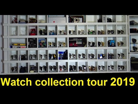 Digital Watch Collection Tour 2019 - Ep 73 - Vintage Digital Watches