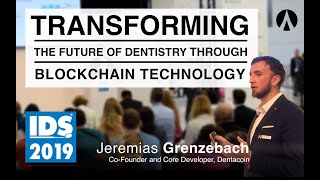 Jeremias Grenzebach, Dentacoin Speaks about the Future of Dentistry at IDS 2019