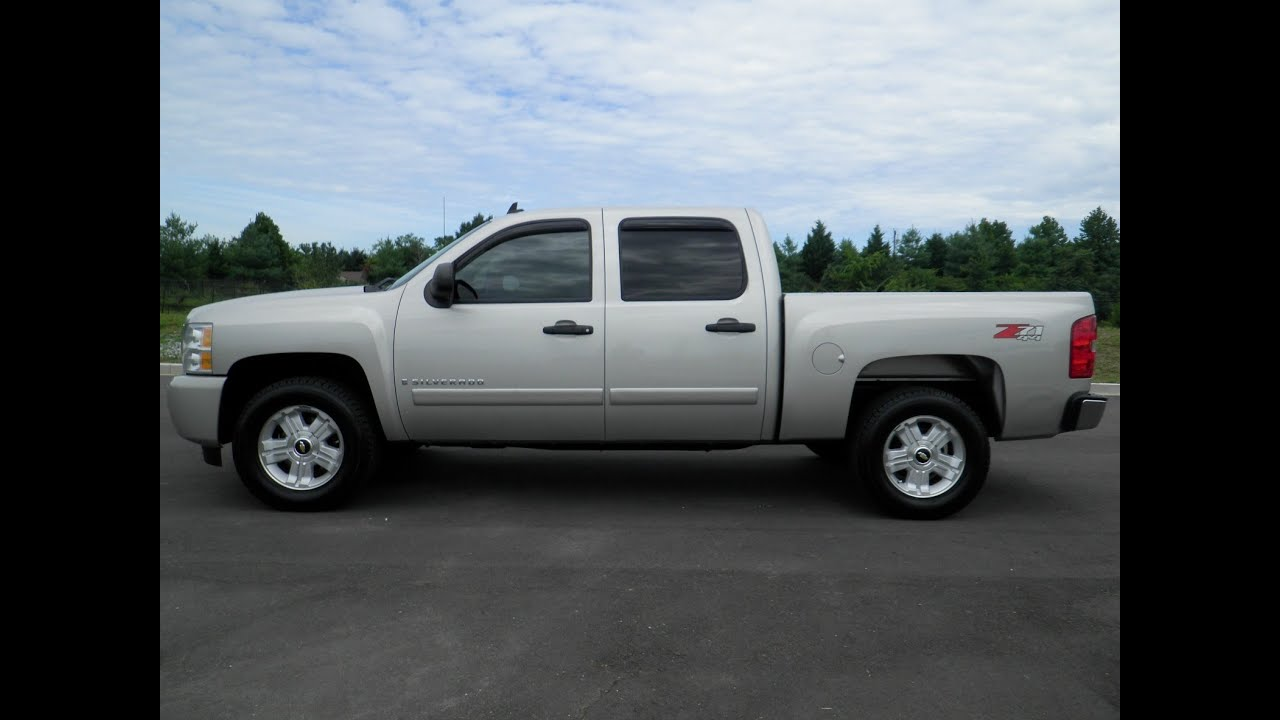 sold 2007 chevrolet silverado 1500 crew cab lt z71 4x4. Black Bedroom Furniture Sets. Home Design Ideas