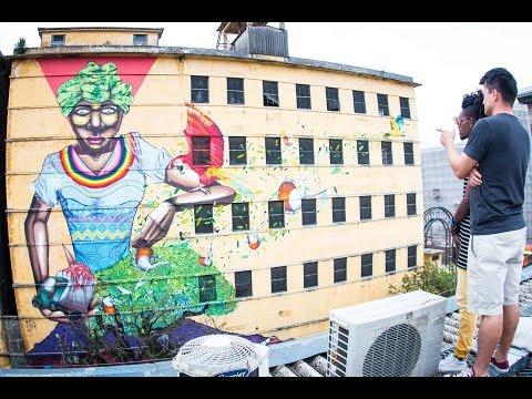 Curitiba Graffite com Dell & Cafe