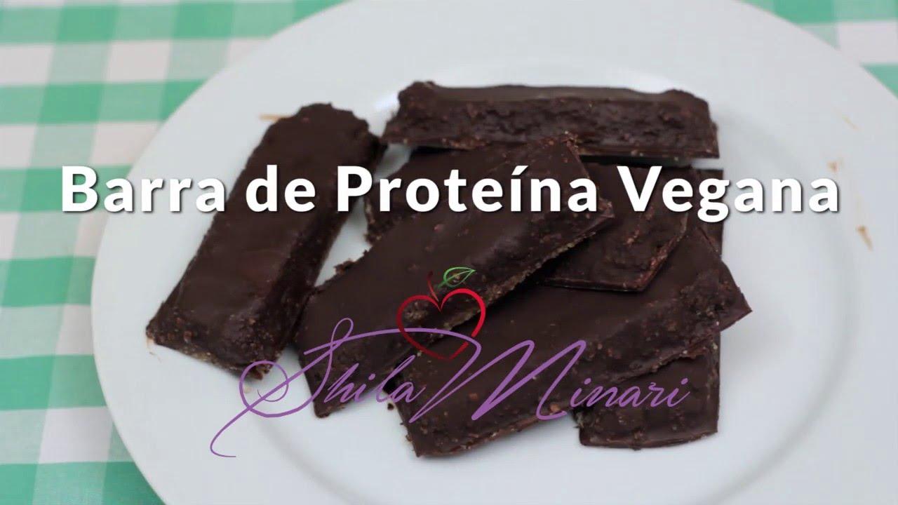 73ea24b36 Receita de Barra de Proteína Vegana - YouTube