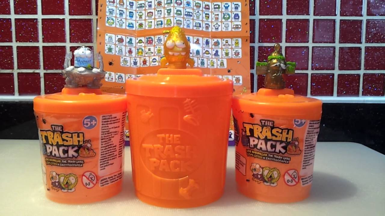 COMPLETE SET OF LIMITED EDITION TRASH PACK SERIES 2  YouTube