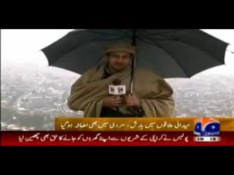 Geo News Snowfall Kotli Azad Kashmir