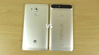 Huawei Mate 8 VS Nexus 6P - Speed & Camera Comparison!