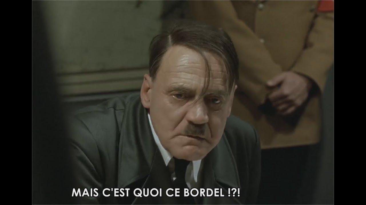 Hitler (La Chute ) réagit à l'élection de Christophe Castaner