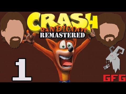 Crash Bandicoot Remastered: Crispin Glover - PART 1 - Goat Face Gaming