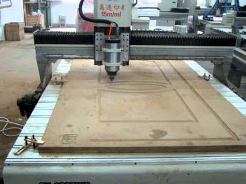 Woodworking Cnc Router With Servo Motor Youtube