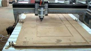 Woodworking CNC Router with Servo Motor