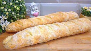 Французский багет хлеб в духовке рецепт теста французский багет в домашних условиях