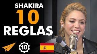 Shakira: 10 reglas para el éxito en la vida