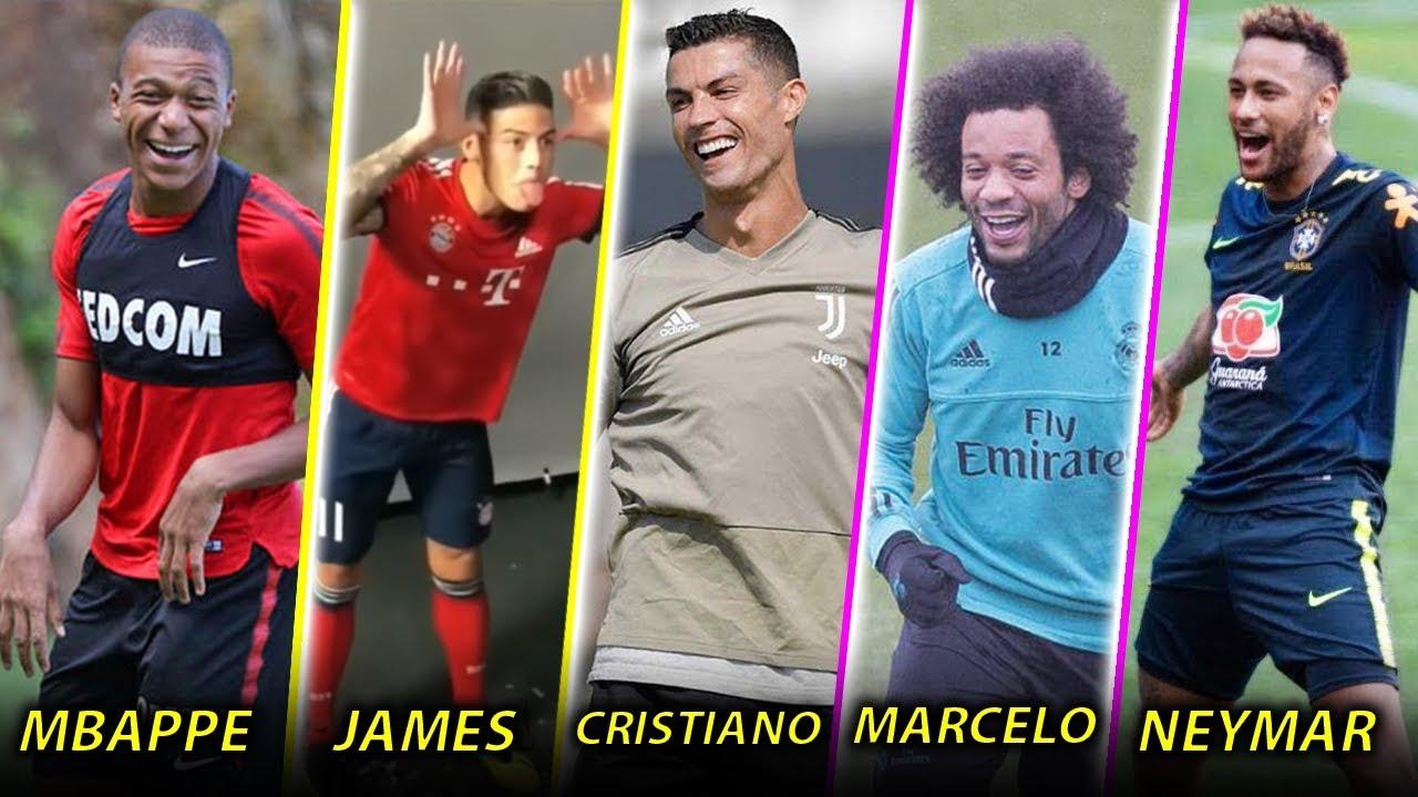 Futbolistas Famosos Momentos mas Divertidos Ft. Cristiano, Neymar, James, Mbappe y Mas