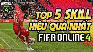 TOP 5 SKILL HIỆU QUẢ NHẤT TRONG FIFA ONLINE 4 PHẦN 2