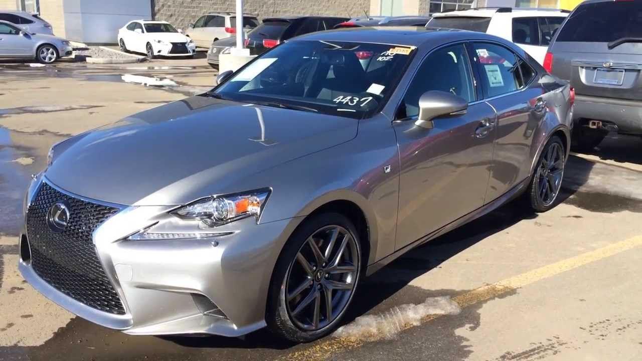 2014 Lexus IS 350 AWD in Atomic Silver - Premium F Sport ...