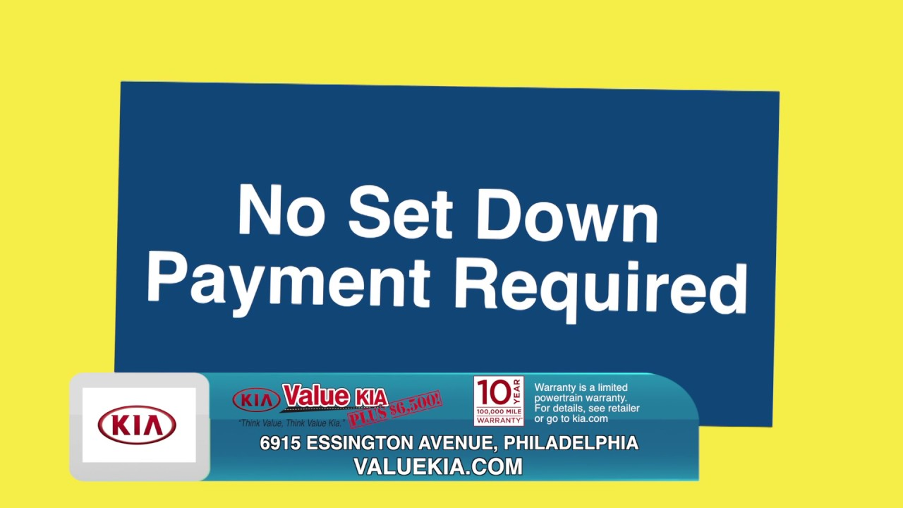Value Kia Philadelphia >> Value Kia - Tax Refund Time! No Set Down Payment Required! - YouTube