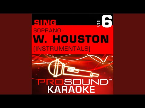I Will Always Love You (Karaoke Instrumental Track) (In the Style of Whitney Houston)