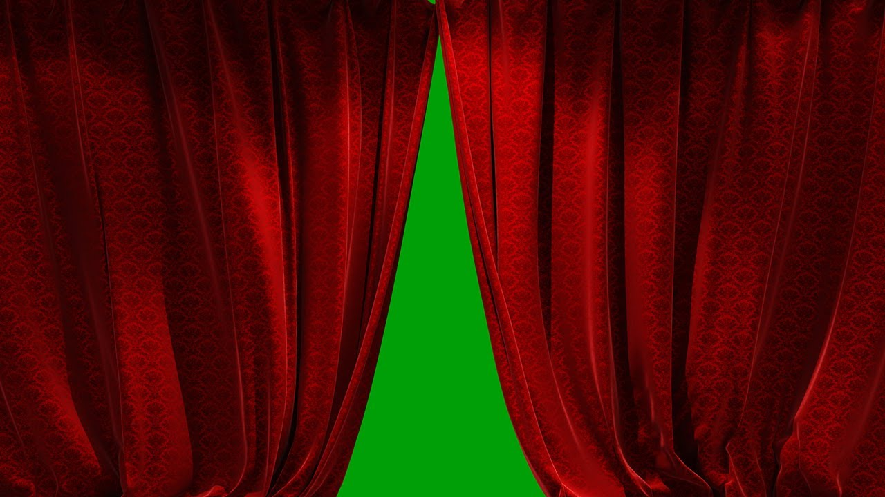 Download 3D Realistic Red Curtain Opening Closing (6 Scene Video) Free For Use
