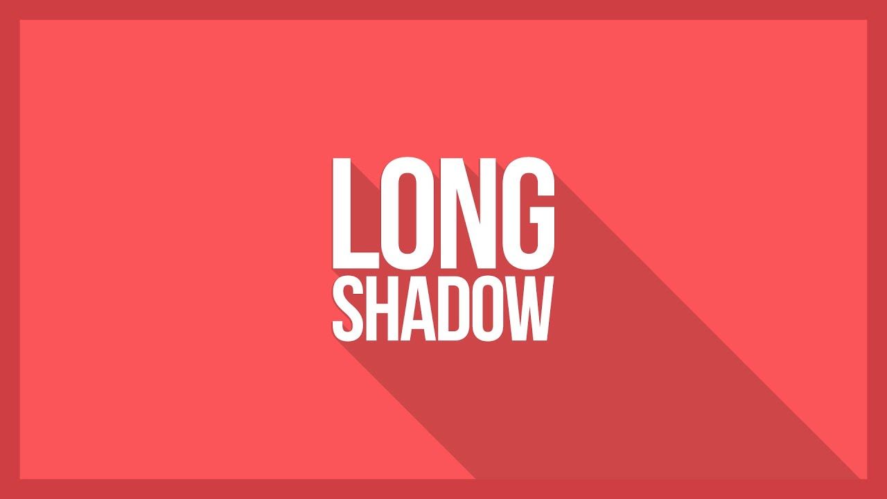 How To Make Long Shadow In Photoshop - Any Version | No Script or Plugin |  Simple Method