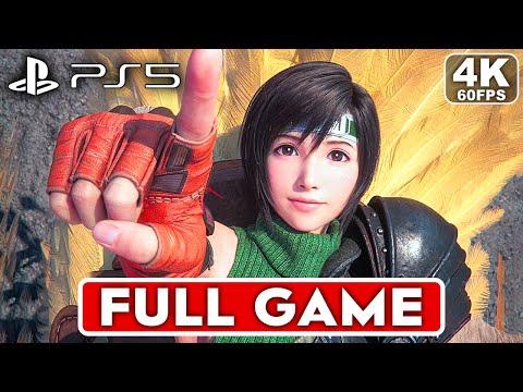 FINAL FANTASY 7 REMAKE INTERGRADE YUFFIE PS5 Gameplay Walkthrough Part 1 FULL GAME [4K 60FPS]