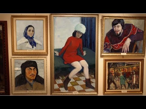 CrazyTalk Animated Paintings - Yekaterinburg Gallery of Modern Art