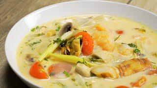 🌶 Суп Том Ям. Тайская кухня. Рецепт от Всегда Вкусно.