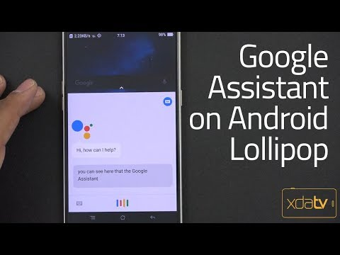 How to Get the Google Assistant on Android 5 Lollipop + devises (no Root)