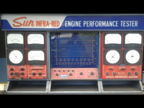 Sun Infra-Red Engine Performance Tester