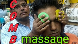 Download Intense Asmr comb head massage by old school barber Mp3 and Videos