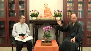 """""""How to live in peace in these challenging times?"""" a dialogue by Ven. Sik Hin Hung and Mr. Ben Kwong"""
