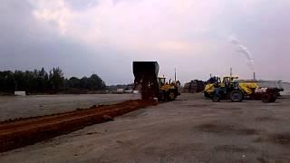 6. Подсыпка грунта(Работы по строительству основания грузовой площадки в Рижском порту (KS terminal) с использованием технологии..., 2012-10-28T14:52:08.000Z)