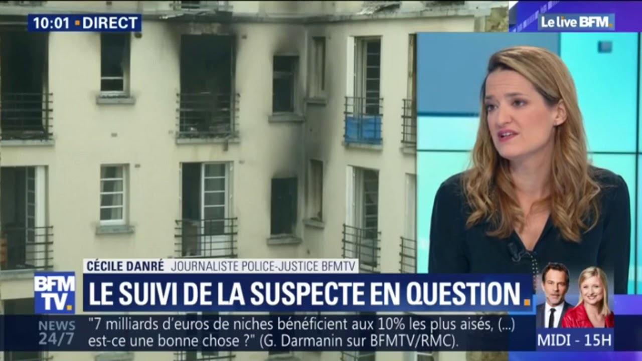 Incendie à Paris: sortie de garde à vue, la suspecte a été admise en infirmerie psychiatrique