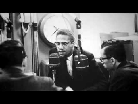Radio program with Malcolm X  and members of the public who phone in