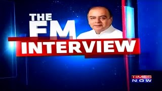Arnab Goswami Interviews FM Arun Jaitley at Global Business Summit