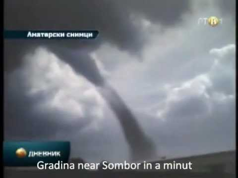 Largest Tornado ever recordet in Europ