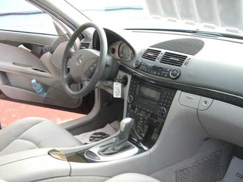Mercedes E 270 Cdi W211 Youtube