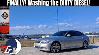 BMW 335d (e90) FINALLY gets washed!! TESTING my NEW Honda Powered Pressure Washer