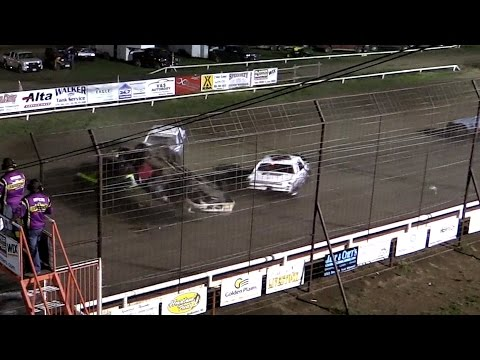 Wild Start MCA Hobby Stock A Feature Wakeeney Speedway 5-25-15